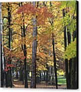 Lexington Park Canvas Print by Kathy DesJardins