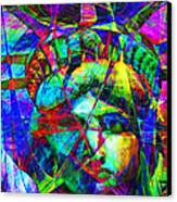 Liberty Head Abstract 20130618 Canvas Print