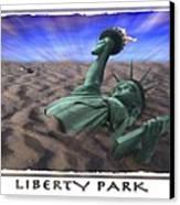 Liberty Park Canvas Print by Mike McGlothlen