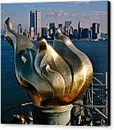 Liberty's Flame Canvas Print by Benjamin Yeager