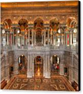 Library Of Congress Canvas Print by Steve Gadomski