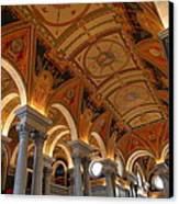 Library Of Congress - Washington Dc - 011317 Canvas Print by DC Photographer