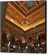 Library Of Congress - Washington Dc - 011321 Canvas Print by DC Photographer
