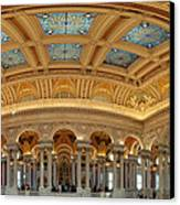 Library Of Congress - Washington Dc - 011322 Canvas Print by DC Photographer