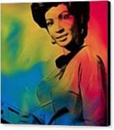 Lieutenant Uhura Canvas Print by Steve K
