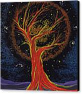 Life Blood Tree By Jrr Canvas Print by First Star Art