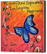 Life - Healing Art Canvas Print by Absinthe Art By Michelle LeAnn Scott