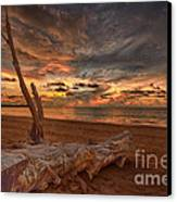 Life's A Beach Canvas Print by Pete Reynolds