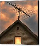 Light In Attic Window Canvas Print