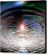 Light Roulette  V3 Canvas Print by Rebecca Phillips