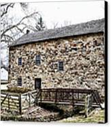 Lightfoot Mill At Anselma Chester County Canvas Print