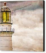 Lighthouse Cape Elizabeth Maine Canvas Print by Bob Orsillo
