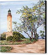 Lighthouse Canvas Print by Victor Collector