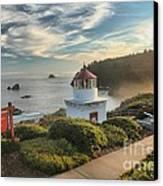 Lighthouse Walk Canvas Print by Adam Jewell