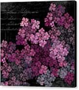 Lilacs Canvas Print by Sylvia Thornton