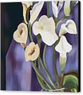 Lilies Canvas Print by Sydne Archambault