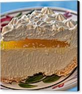 Lilikoi Cheese Pie Canvas Print by Dan McManus