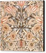 Lily And Pomegranate Wallpaper Design Canvas Print by William Morris