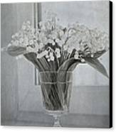 Lily Of The Valley Canvas Print by Elena Nosyreva