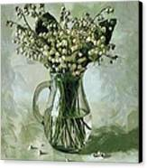 Lily Of The Valley Canvas Print by Vasiliy Agapov