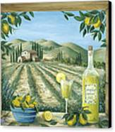 Limoncello Canvas Print by Marilyn Dunlap