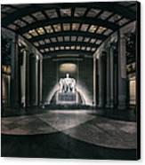 Lincoln Memorial Canvas Print by Eduard Moldoveanu