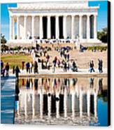 Lincoln Memorial Canvas Print by Greg Fortier