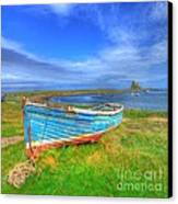 Lindisfarne By The Sea Canvas Print