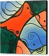 Line Design Canvas Print