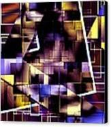 Lines Vs Diagonals Canvas Print by Mario Perez