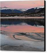 Lipstick Sunset Canvas Print by Bob Berwyn