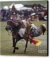 Litang Horse Festival - Kham Tibet Canvas Print by Craig Lovell