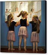 Little Dancing Dreamers Canvas Print by Doug Kreuger