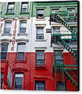 Little Italy Nyc Canvas Print