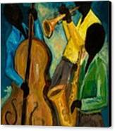 Little Jazz Trio IIi Canvas Print