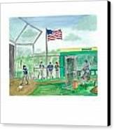 Little League Bp Canvas Print