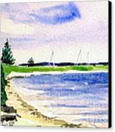 Watch Hill Cove Canvas Print by Joan Hartenstein