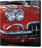 Little Red Corvette Canvas Print by Bill Gallagher