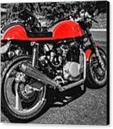 Little Red Racer 001 Canvas Print