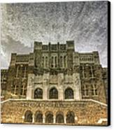Little Rock Central High Reflecting Upon The Past Canvas Print by Jason Politte