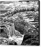 Little Roundtop Overlooking Devils Den Canvas Print
