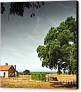 Little Rural House Canvas Print