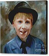 Little Sinatra Canvas Print by Sharon Burger