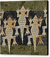 Lizards On The Wall Canvas Print