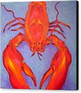Lobster Canvas Print by John  Nolan
