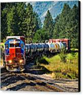 Local Train Canvas Print