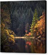 Loch Ard In The Fall Canvas Print