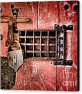 Locked Up Canvas Print
