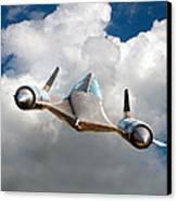 Lockheed Blackbird A12 Trainer Canvas Print