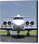 Lockheed Jetstar 2 Canvas Print by Dan Myers